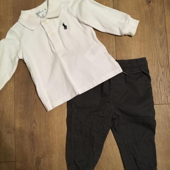 4591212e9 Ralph Lauren and OshKosh Outfit Set